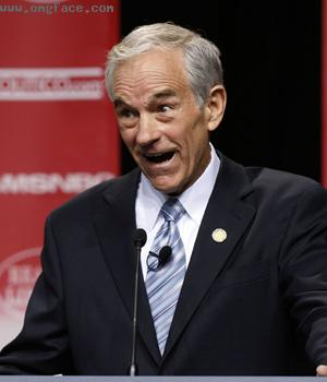 very happy,Ron Paul