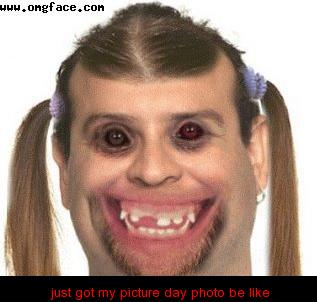just got my picture day photo be like